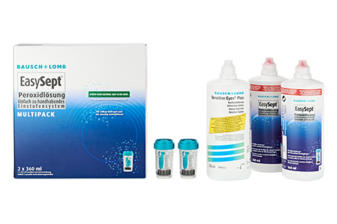 Pflegemittel EasySept Multipack m. Kochsalz