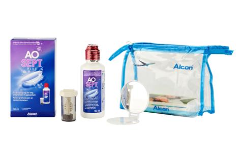 Pflegemittel AoSept Plus Reiseset