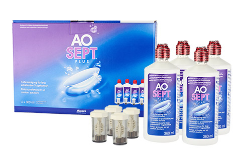 Pflegemittel Aosept Plus Vorratspack