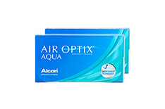AIR OPTIX Aqua (2x6 Stück)