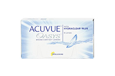 ACUVUE OASYS with HYDRACLEAR Plus (1x6 Stück)
