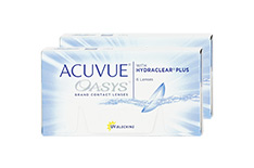 ACUVUE OASYS with HYDRACLEAR Plus (2x6 Stück)