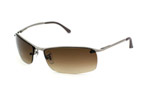 Ray-Ban Sonnenbrille Top Bar RB 3183 004 / 13