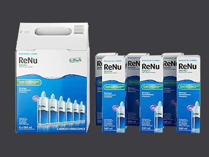 Pflegemittel ReNu Multiplus 6 Monatspack
