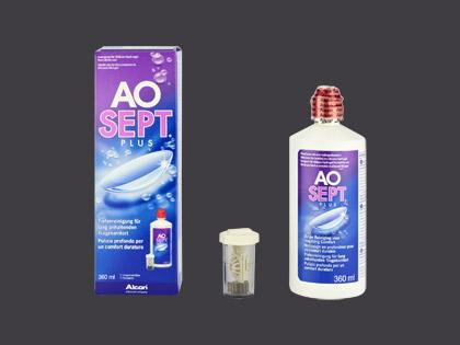 Pflegemittel Aosept Plus Einzelflasche