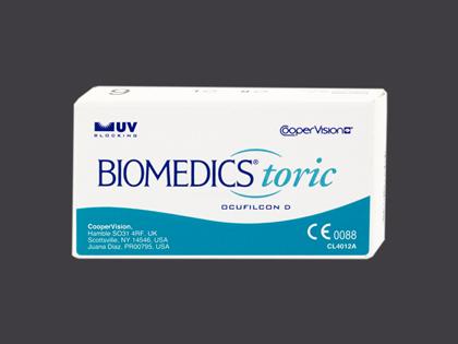 BioMedics Toric UV (1x6 Stück)