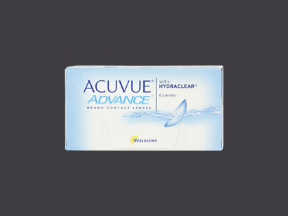 ACUVUE ADVANCE with HYDRACLEAR (1x6 Stück)