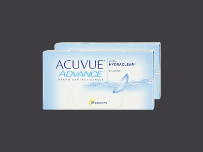 ACUVUE ADVANCE with HYDRACLEAR (2x6 Stück)