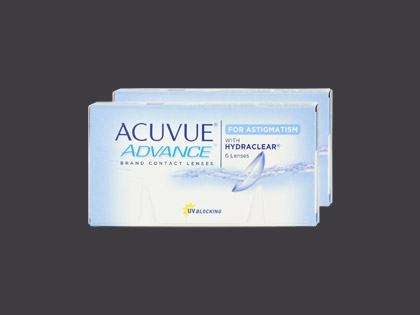 ACUVUE ADVANCE for ASTIGMATISM (2x6 Stück)
